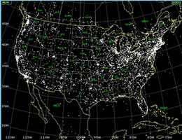 ufo usa sightings map