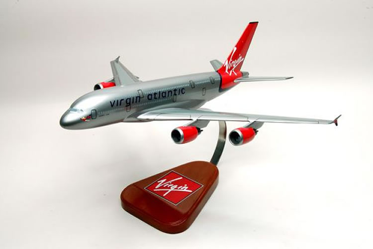 Airbus A380 Virgin Atlantic Model