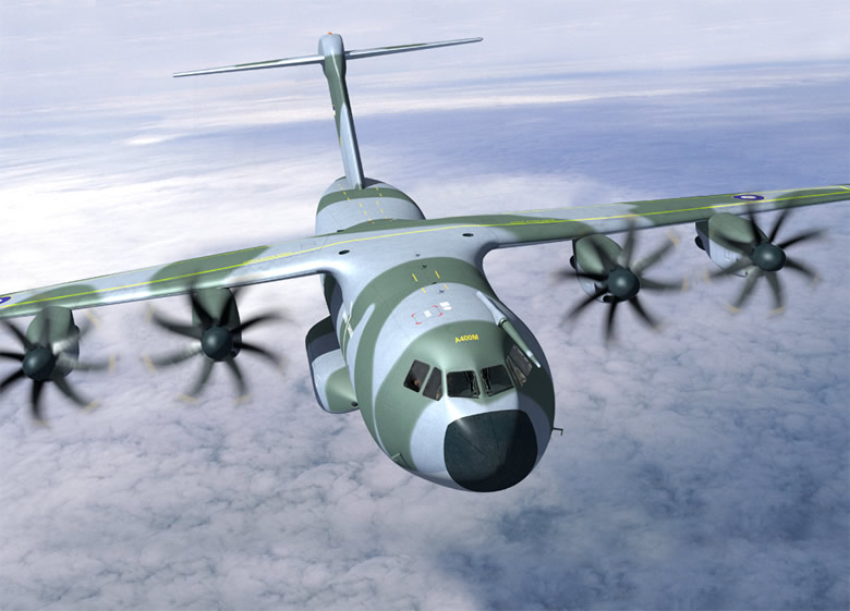 Artists Rendition of the Airbus A400M