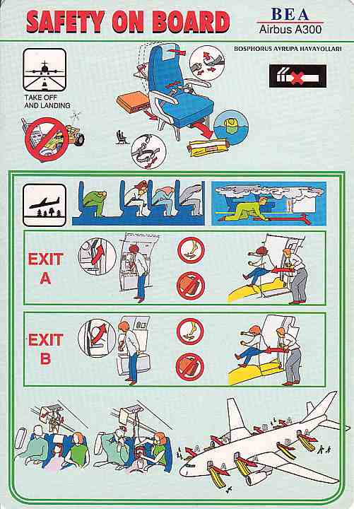 a300 safety card