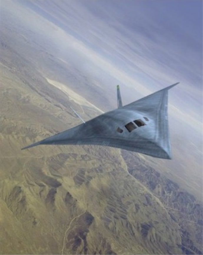 A New Secrect US Aircraft From Area 51 - B-3 Supersonic Bomber Stealth