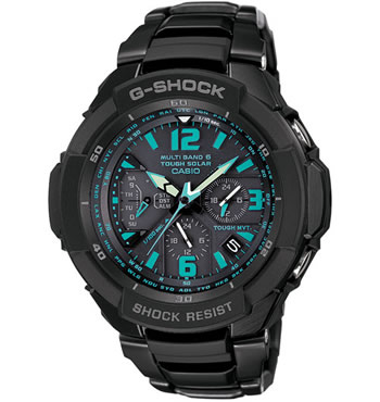 Casio GSHOCK Gw3000bd-1a Aviation Mens Watch Green Color