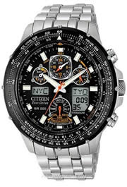Citizen Titanium Skyhawk Flight Chronograph Pilots Watch