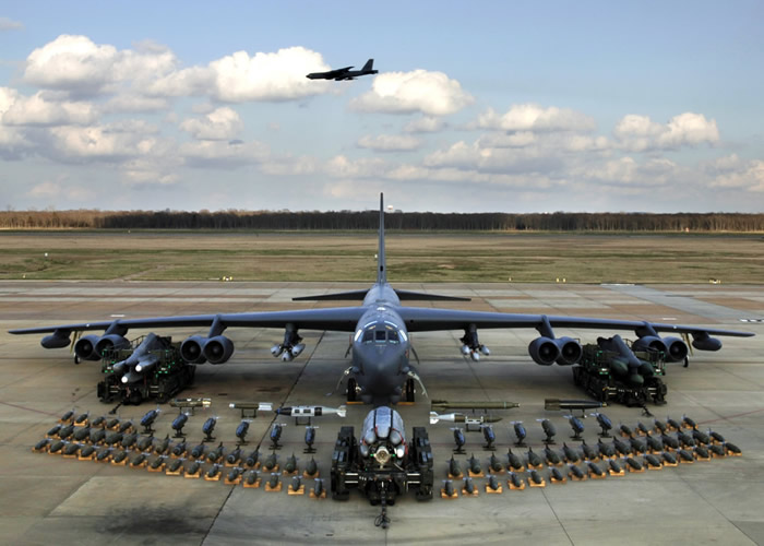 B-52 Ordinance Armament Display