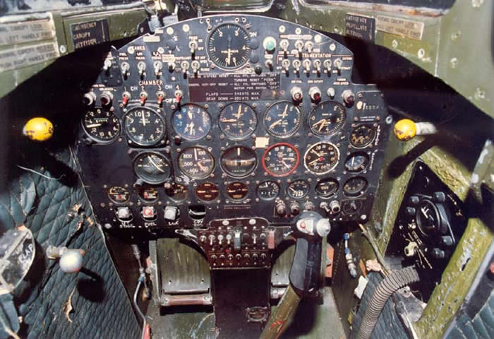 Bell X-1 Cockpit Photo