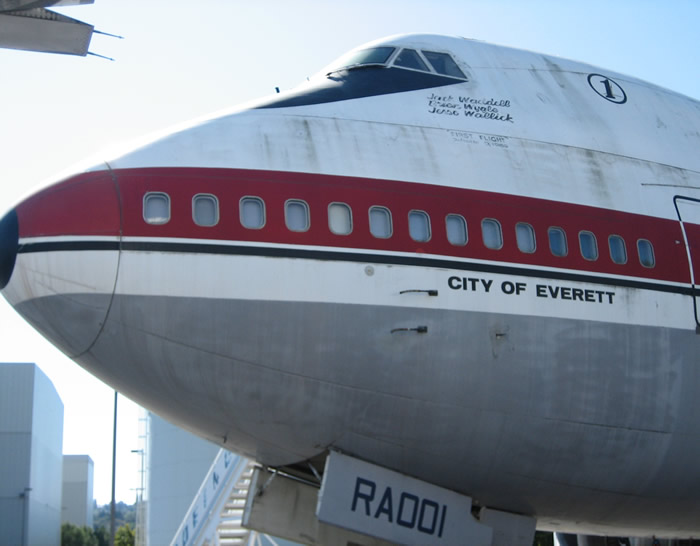 The Boeing 747: First Prototype Airliner