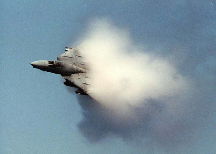 f14 hits sound barrier