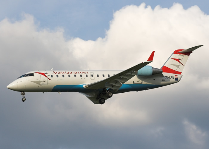 Bombardier Austrian Arrows CRJ-100 Airliner Photo