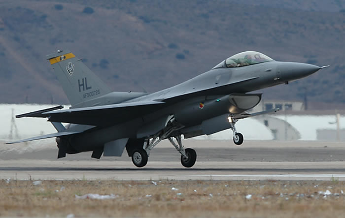 F-16 Fighting Falcon USAF From Hill AFB