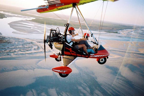 Ultralight Trike Aircraft