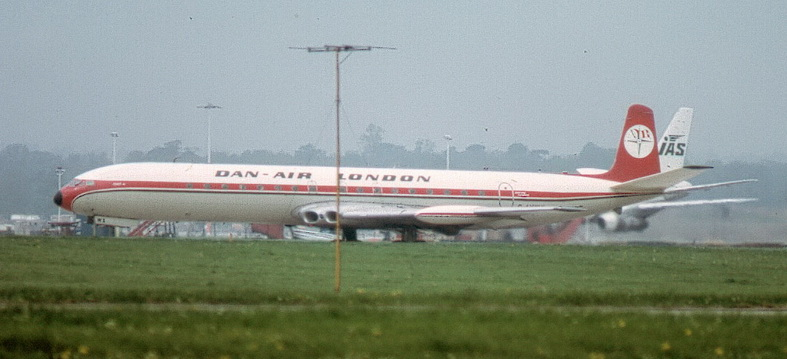 de havilland comet dh-106 airplane dan air