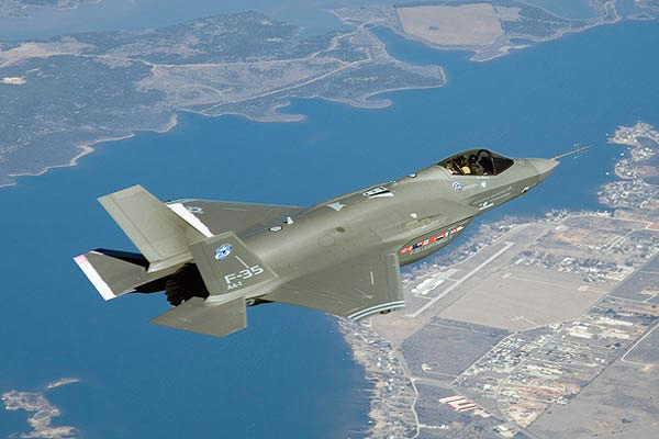 F-35 Lightning Fighter Jet