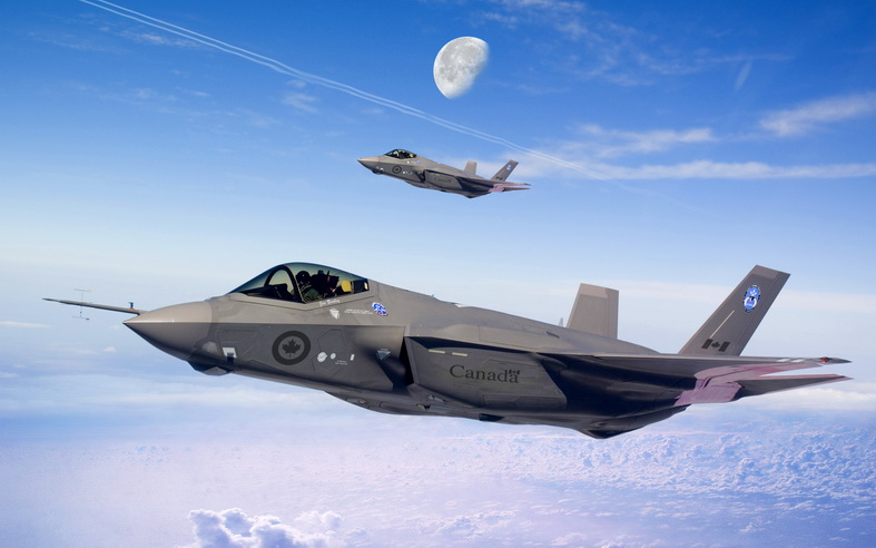 f-35 jsf fighter jet canada air force