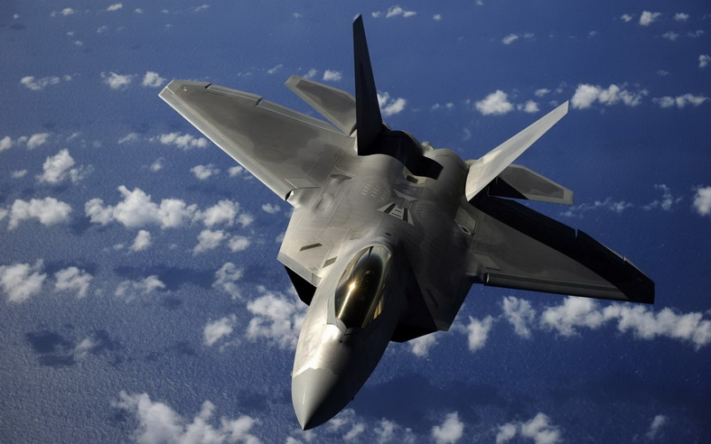 f-35 jsf fighter jet in flight
