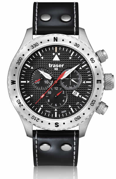 Traser Pilots Flight Men's Aviator Watch