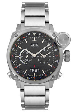 Pilot Watch - Oris Men's BC4 Automatic Flight Timer Stainless Steel Watch