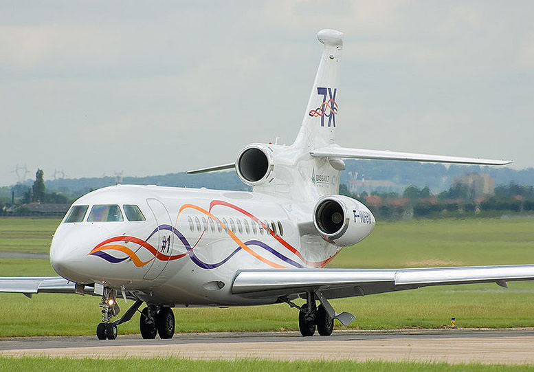 Dassault Falcon 7X Fly By Wire Corporate Jet