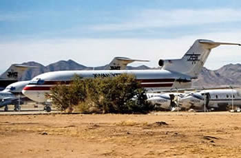 boeing 727 in kingman arizona boneyard