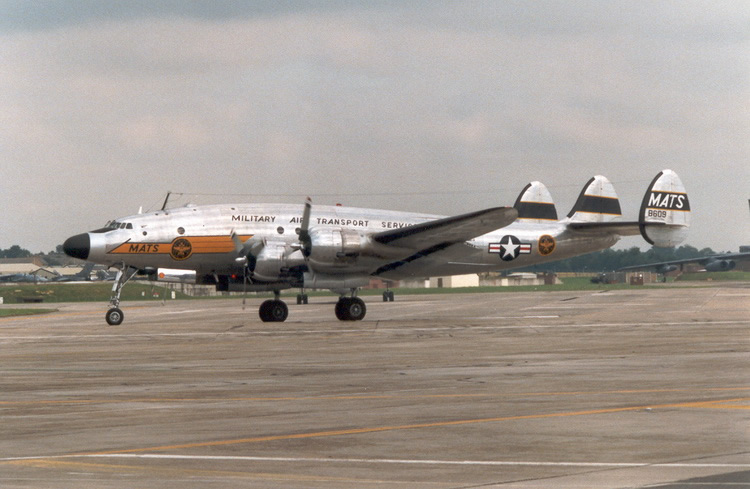 C-121 Military Lockheed Constellation