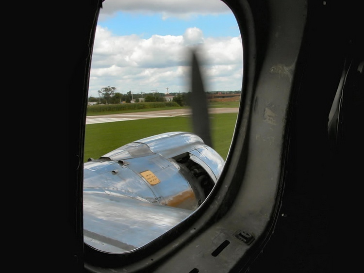 lockheed constellation passenger window view