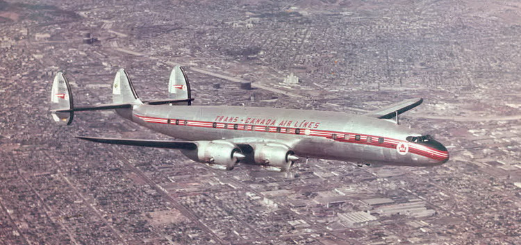 Trans Canada Air Lines Lockheed Super-G Constellation