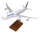 air france airbus a340 model airplane