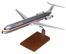 american airlines md-80 model airplane