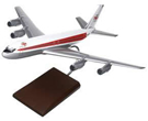 boeing 707 twa airlines model airplane