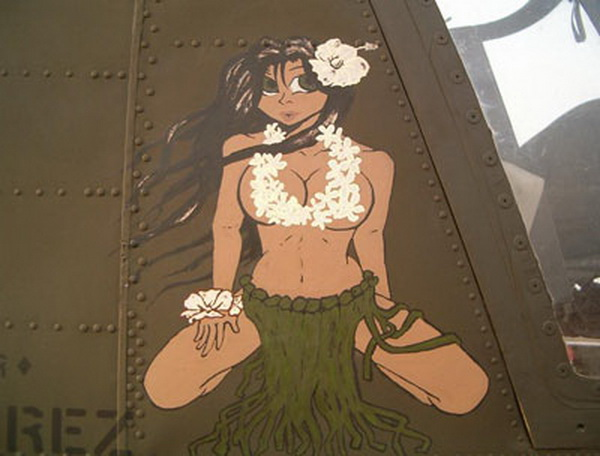 wwii airplane nose art pictures