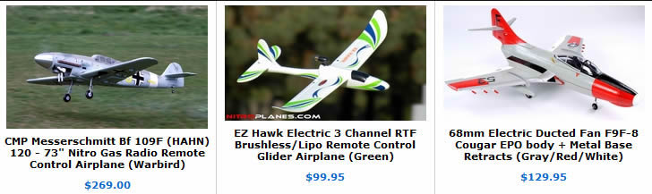 the new rc aircraft are here and on sale!