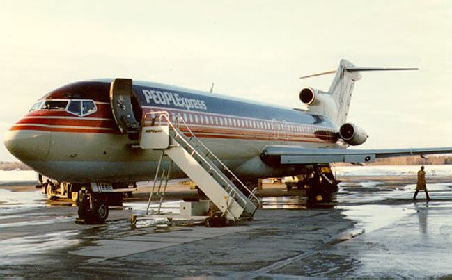 people express airlines boeing 727