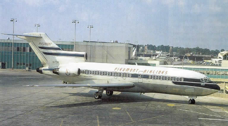 piedmont airlines b727