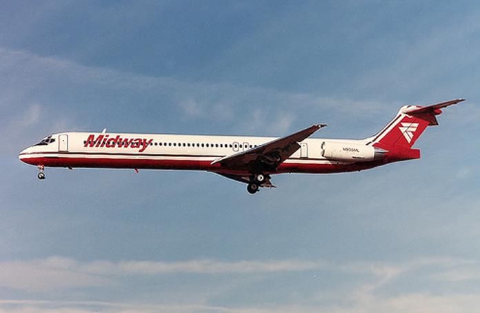 midway airlines md-80 series