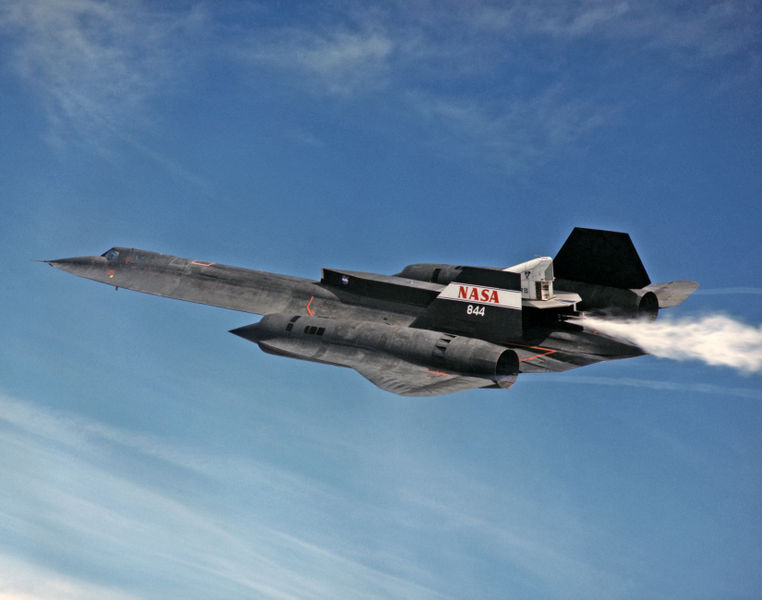 SR-71 LASRE cold test built by Skunk Works