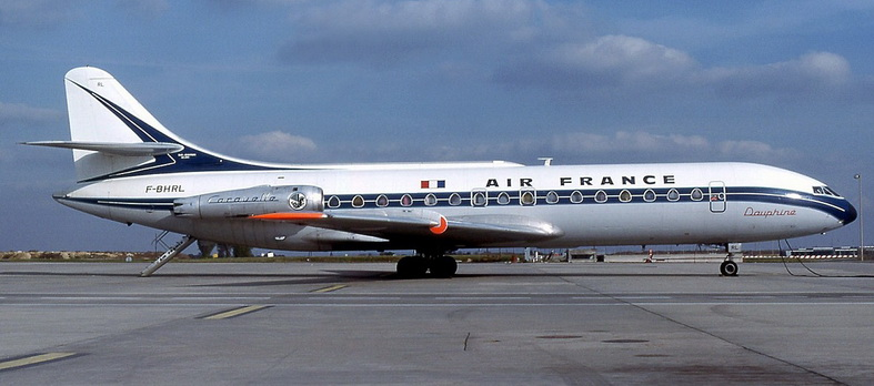 Sud Caravelle Aircraft Air France