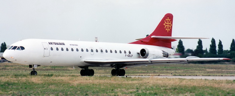 Sud Caravelle Aircraft Air Toulouse