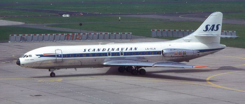 Sud Caravelle Aircraft SAS Airlines