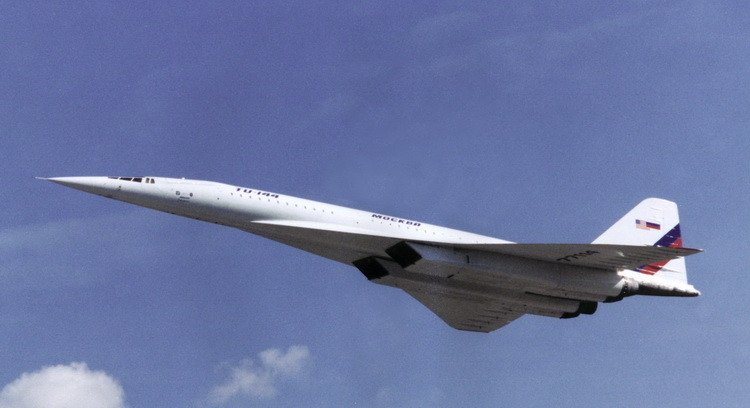 tupolev tu-144 supersonic aircraft sst
