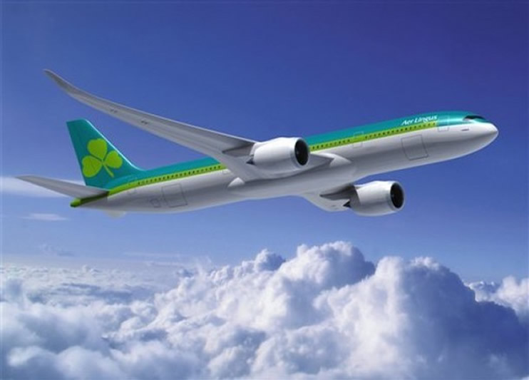 Airbus A350 Aer Lingus Airlines