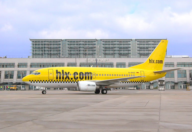 Boeing 737-500 HLX Airlines