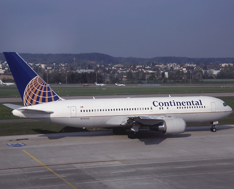Continental: Boeing 767
