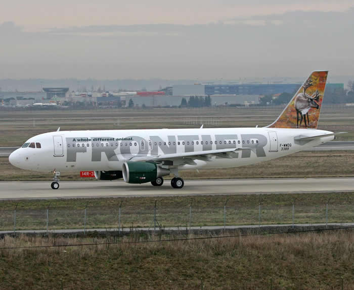 Frontier Airlines: Airbus A320
