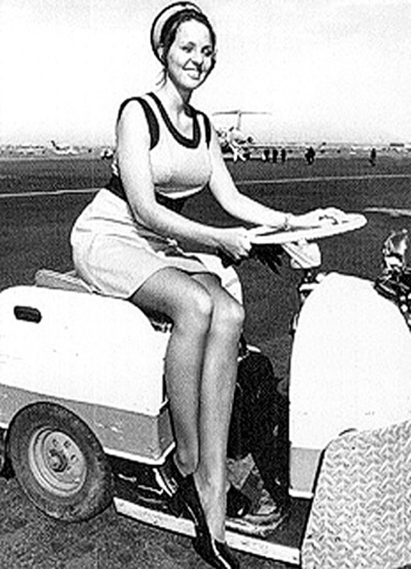 continental airlines stewardess