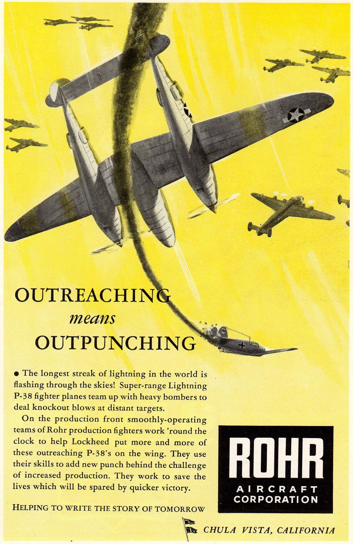 Vintage Military Magazine World War 2 Ads