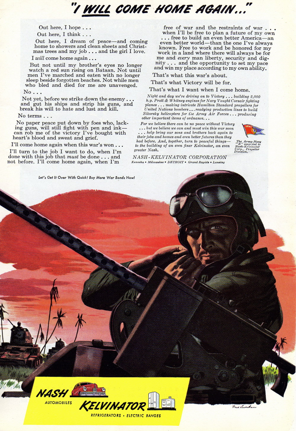 war ad We have gathered 42 second world war ads and i think that you shouldn't miss them under any circumstances starting from 1942 and until 1945, companies began to.
