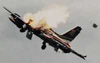 Air Show Crash Photos