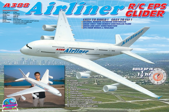 rc airliner airplanes