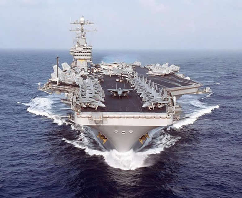 Aircraft Carrier CVN 71