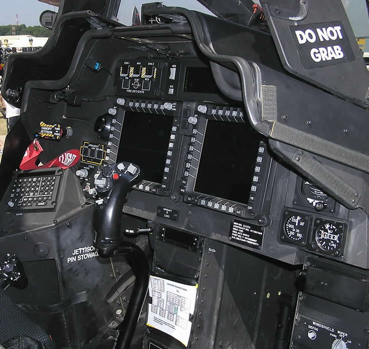 AH64 Apache Helicopter Cockpit Photo