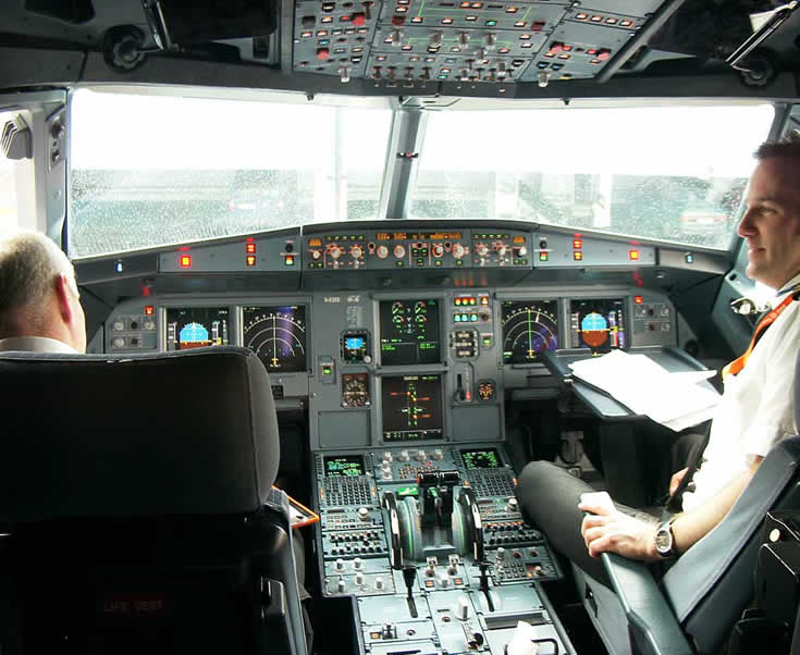 airbus a319 cockpit